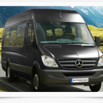 A van for fourtheen people: the Mercedes sprinter
