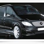 A elegant minivan for your taxi service- Mercedes Viano and Vito